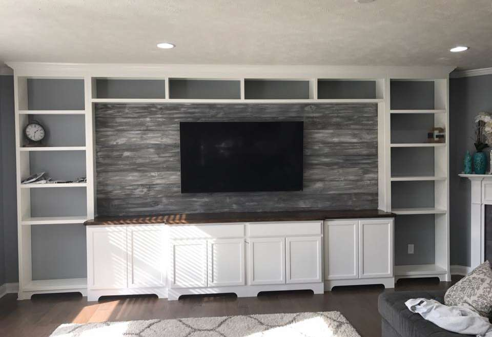Custom Entertainment Wall