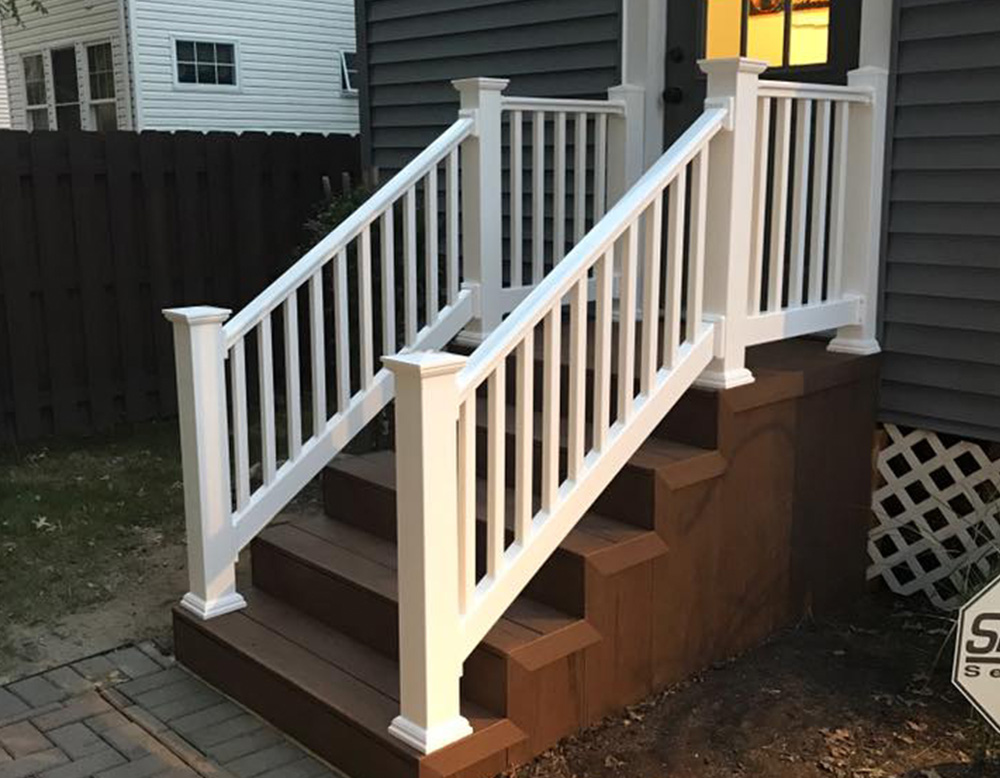 Exterior Composite Stairs Amp Vinyl Railings Snyder